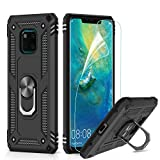 LeYi for Huawei Mate 20 Pro Case with Magnetic Ring Holder,