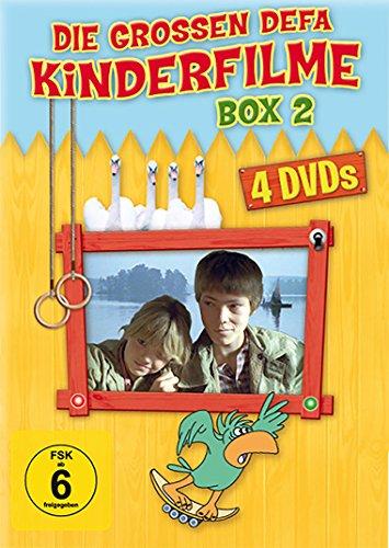Die grossen DEFA Kinderfilme - Box 2 [4 DVDs: Insel der Schwäne - Abenteuer mit Blasius - Familie Wirbelwind - Familie Wirbelwind auf Urlaub)]