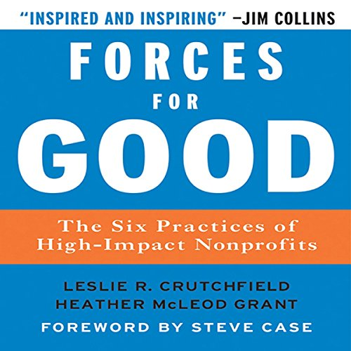 Forces for Good audiobook cover art