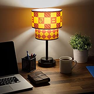 BRANDMONK LTD Compatible with Harry Potter Quidditch Table Lamp Collectible Fun - Gryffindor