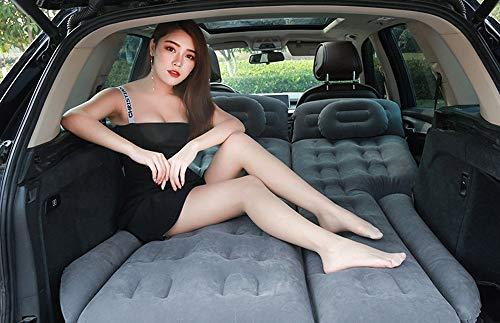 Weastion Auto-Luftmatratze High-End-atmosphärischer SUV-Kofferraum-Schlafsack Auto-Auspuffmatte SUV-Auto-Luftmatratze Auto-Kissen-Stamm-Reiseauflage Selbstfahrendes Reisen Wildes Camping-Grau
