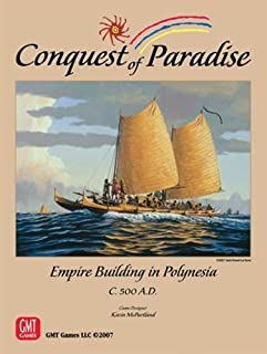 Conquest of Paradise by GMT Games
