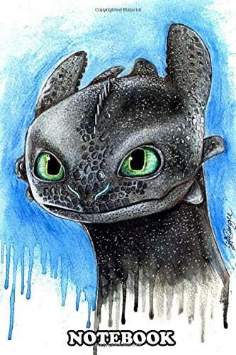 Notebook: Toothless , Journal for Writing, College Ruled Siz