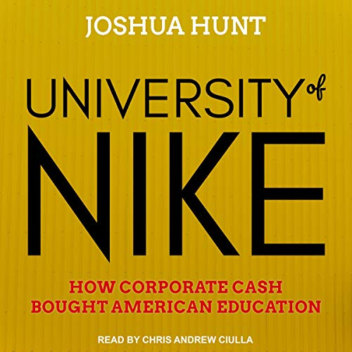 University of Nike audiobook cover art