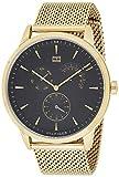 Tommy Hilfiger Herren Multi Zifferblatt Quarz Uhr mit Edelstahl Armband 1710386