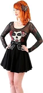 Lucky 13 Women's Sedated Skater Dress Black