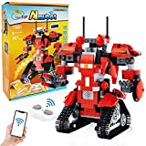 Robot Building Kit for Kids Ages 8-12,Building Blocks Robot,Remote Control & APP Engineering Science Educational Building Toys Kits(392 Pieces)