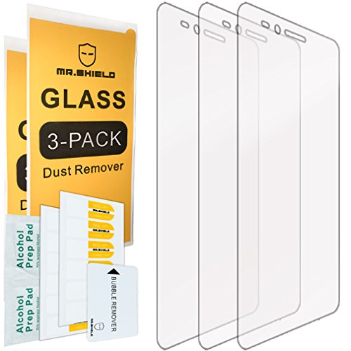 [3-Pack]-Mr.Shield for Huawei Honor 5X [Tempered Glass] Screen Protector with Lifetime Replacement