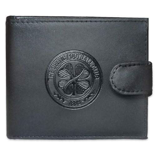 Celtic Fc Leather Wallet Embossed Crest By Celtic F.c.