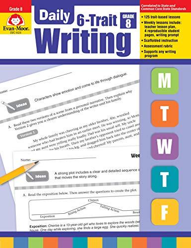 Evan-Moor Daily 6-Trait Writing, Grade 8