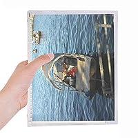 湖釣り 硬質プラスチックルーズリーフノートノート