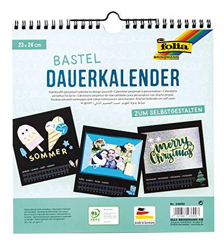 Folia 23690 - Calendario permanente personalizable (23...