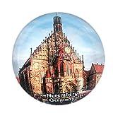 Nürnberg Deutschland Kühlschrankmagnet 3D Kristallglas Tourist Stadt Reise Souvenir Sammlung Geschenk Starke Kühlschrank Aufkleber