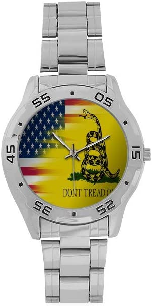 Men's Stainless Steel Analog Minneapolis Mall Watch Dont United Tread ME State ON trend rank