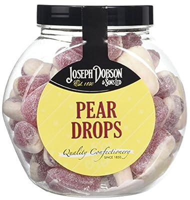 Joseph Dobson Pear Drops Gift Jar,