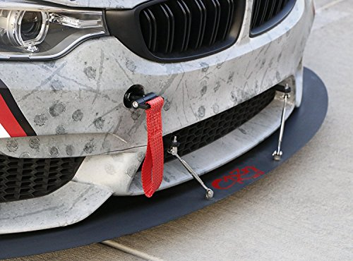 Car Refitted Front Rear Bumper Trailer Ring Eye Towing Tow Hook Kit Hook Screw On for BMW 1 3 5 Series X5 X6 E30 E34 E36 E39 E46 E82 E90 E91 E92 E93 E70 E71 Mini Cooper