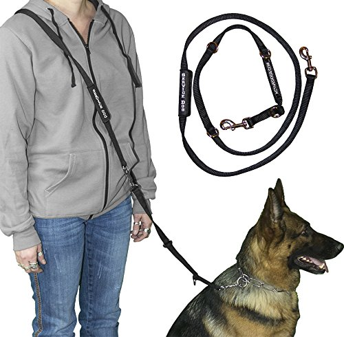 Activedogs Service Dog Leash Hands Free Leash (6.5')
