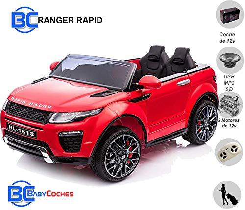 Babycoches - Coches eléctricos para niños Ranger Rapid, 12 V, Coches de batería 12v, Suspension, Coches eléctricos con Mando Parental,...