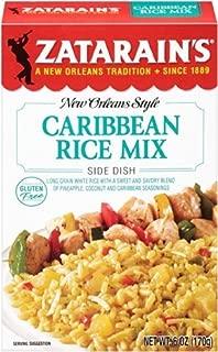 Zatarain's, New Orleans Style, Caribbean Rice Mix, 6oz Box (Pack of 6)