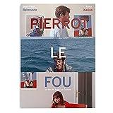 French Pierrot Le Luc Godard Paul Jean New Belmondo Fou