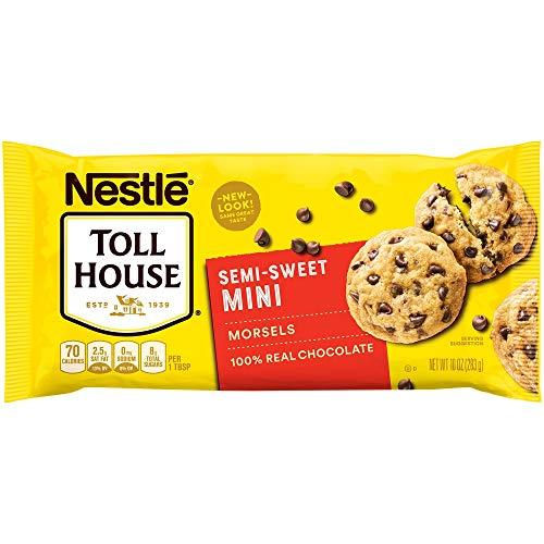 Nestle Toll House, Semi-Sweet Chocolate Chip Mini Morsels, 10 oz