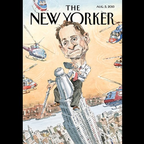 The New Yorker, August 5th 2013 (Jeffrey Toobin, Gary Shteyngart, John Lanchester)                   By:                                                                                                                                 Jeffrey Toobin,                                                                                        Gary Shteyngart,                                                                                        John Lanchester                               Narrated by:                                                                                                                                 Todd Mundt                      Length: 2 hrs and 2 mins     Not rated yet     Overall 0.0
