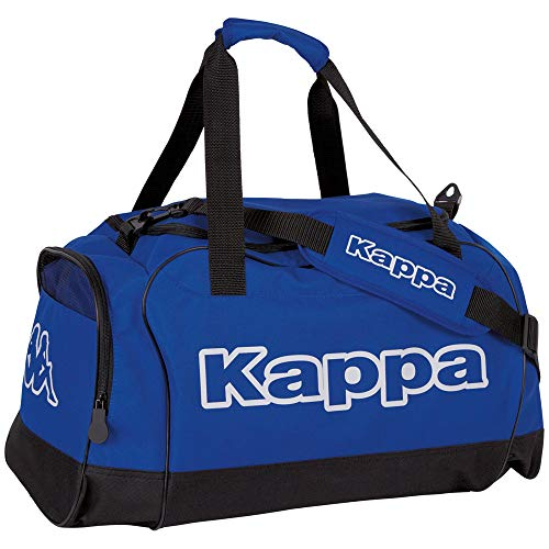 Kappa TOMAR Sport-Tasche grau I Trainings-Tasche mit Trockenfach & Schuhfach I für Männer & Frauen, Größe 60cm x 30cm x 39cm