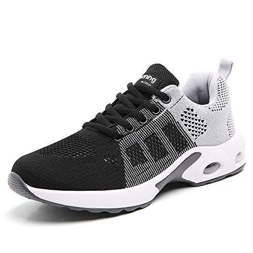 Sport Shoes for Women Running Tennis Athletic Walking Shoes Ladies Runner Gym Workout Trail Cross Trainers Size 6 mesh Breathable