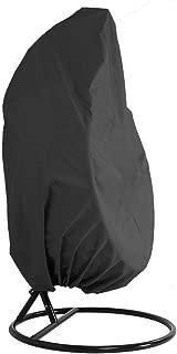 Porche HANSHI HZC01-A Columpio Muebles de jard/ín sal/ón Resistente al Agua para balc/ón Funda para Silla Colgante