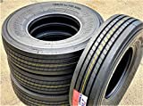 Set of 4 (FOUR) Transeagle ST Radial All Steel Premium Trailer Tires-ST225/75R15 124/121L LRG 14-Ply