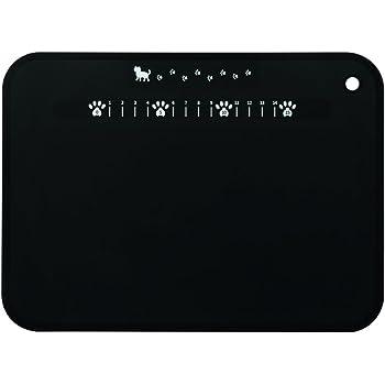貝印 KAI ねこのやわらかまな板 Nyammy 黒 日本製 AP5180