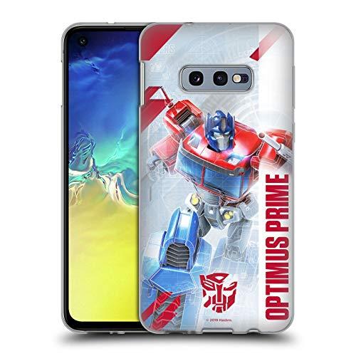 Head Case Designs Oficial Transformers Optimus Prime Arte Clave de Autobots Carcasa de Gel de Silicona Compatible con Samsung Galaxy S10e