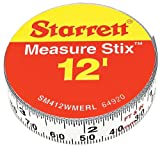 SM412WMERL 1/2' x 12' Measure Stix
