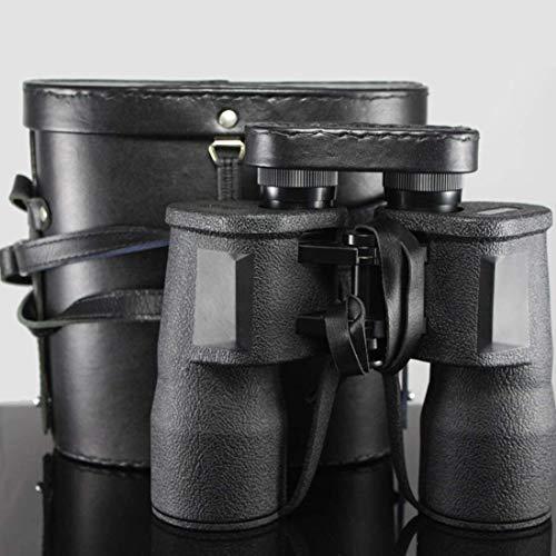 TOMSSL Prismáticos binoculares compacto plegable al aire libre plegable binoculares 10X50 alta definición de visión nocturna, un pequeño telescopio de observación de aves, actividades, viajes, aventur