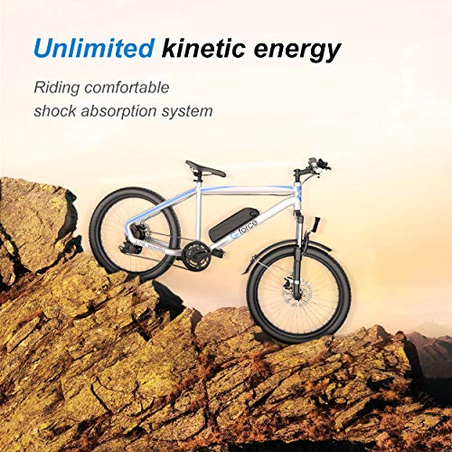 513hKvYryNL. SL500 G-Force Electric Bicycle, 26-Inch Mountain Electric Bicycle for Adults