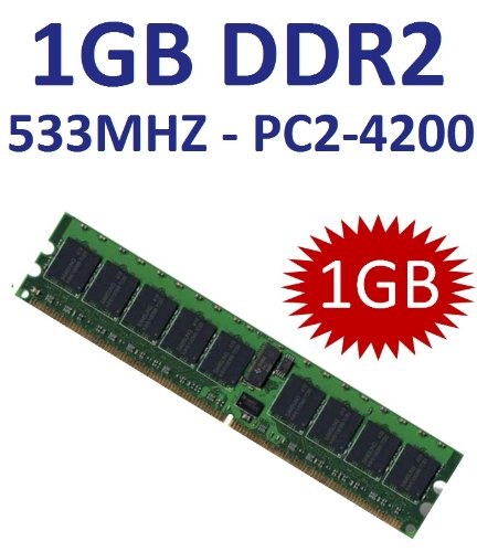 1 GB 240 pin DDR2-533 (533Mhz, PC2-4200U, CL4) Non ECC, unbuffered für DDR2 Mainboards - 100% kompatibel zu 400Mhz, PC2-3200U, CL3
