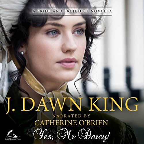 Yes, Mr. Darcy audiobook cover art