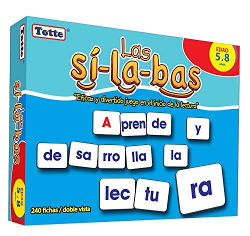 Totte Las Sílabas Juego en el Inicio de la Lectura aprendiendo a estructurar y componer Palabras Mediante Las sílabas