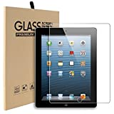 iPad 2 3 4 Glass Screen Protector, Abestbox 9H HD Premium...