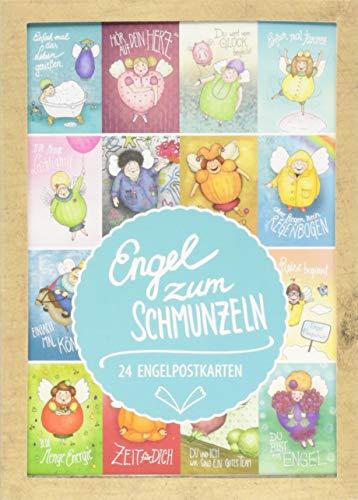 Engel zum Schmunzeln: 24 Engelpostkarten