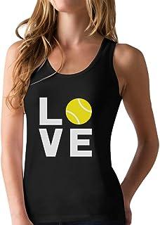 Love Tennis - Gift Idea for Tennis Fans Cool Racerback Tank Top