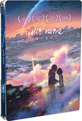 Your Name. Limited Edition Steelbook Blu-ray + Digital