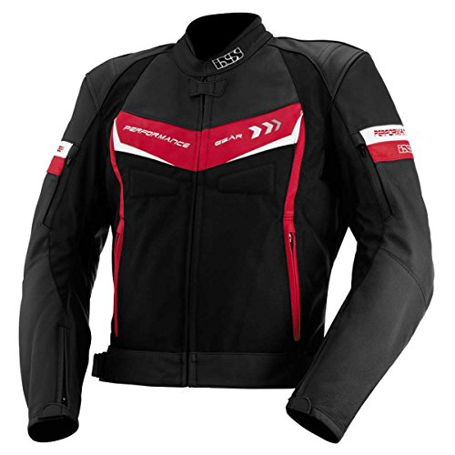 IXS Rockford Chaqueta de cuero textil de motociclista