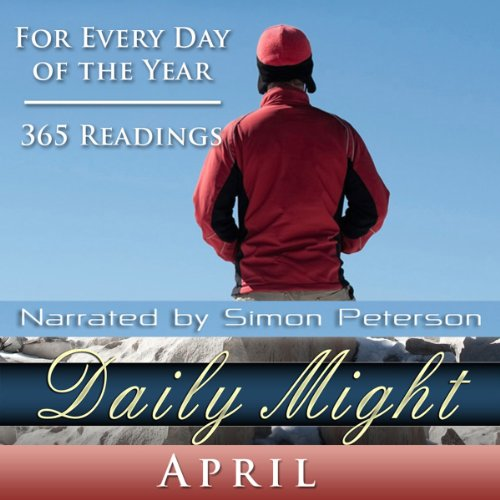 Daily Might: April audiobook cover art