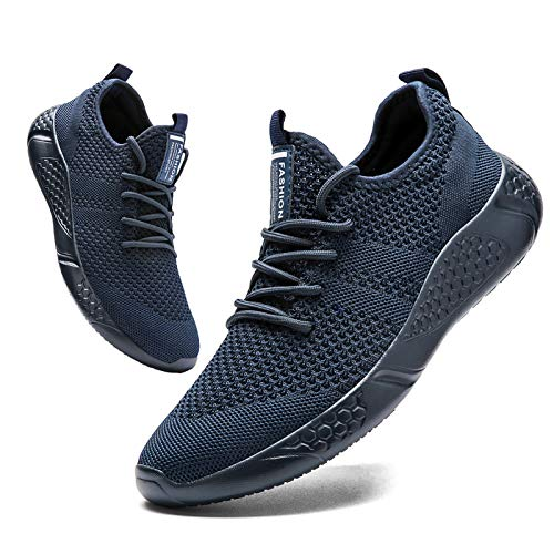 BUBUDENG Zapatillas de Deporte Hombres Running Zapatos para Correr Gimnasio Sneakers Deportivas...