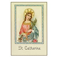Holy Note Card (Large Hard)- St. Gatherine