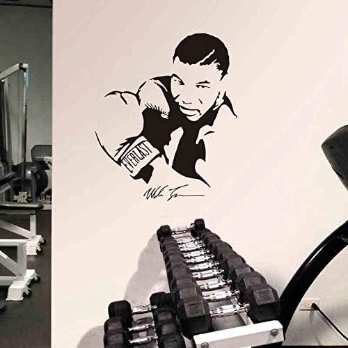 Boxeo Deportes WBA Star Boxer Mike Free Combat Tyson GYM Fitness Etiqueta de la pared Vinilo Calcomanía para autos Boy Fans Dormitorio Sala de estar Club Studio Home Decor Mural