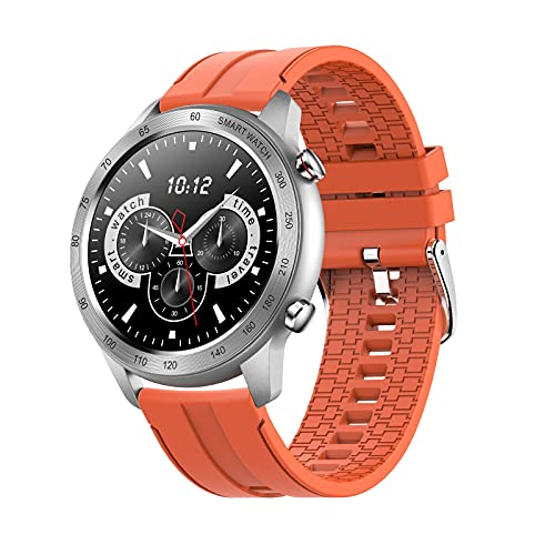 Lazzzgua Smart Watch with 1.3' Touch Screen Display ECG PPG Monitor Smartwatch Bluetooth Call Heart Rate Fitness Tracker IP68 Waterproof Heart Rate Bracelet