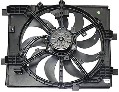 Sunbelt Radiator Cooling Fan Assembly For Nissan Juke NI3115147 Drop in Fitment