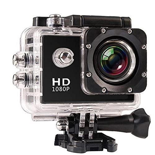 Acción de la cámara, la cámara 1080P Submarino WaterprooWaterproof, la pantalla táctil de la cámara de un micrófono exterior Deporte para viajar al aire libre Ciclismo Buceo amantes del esquí